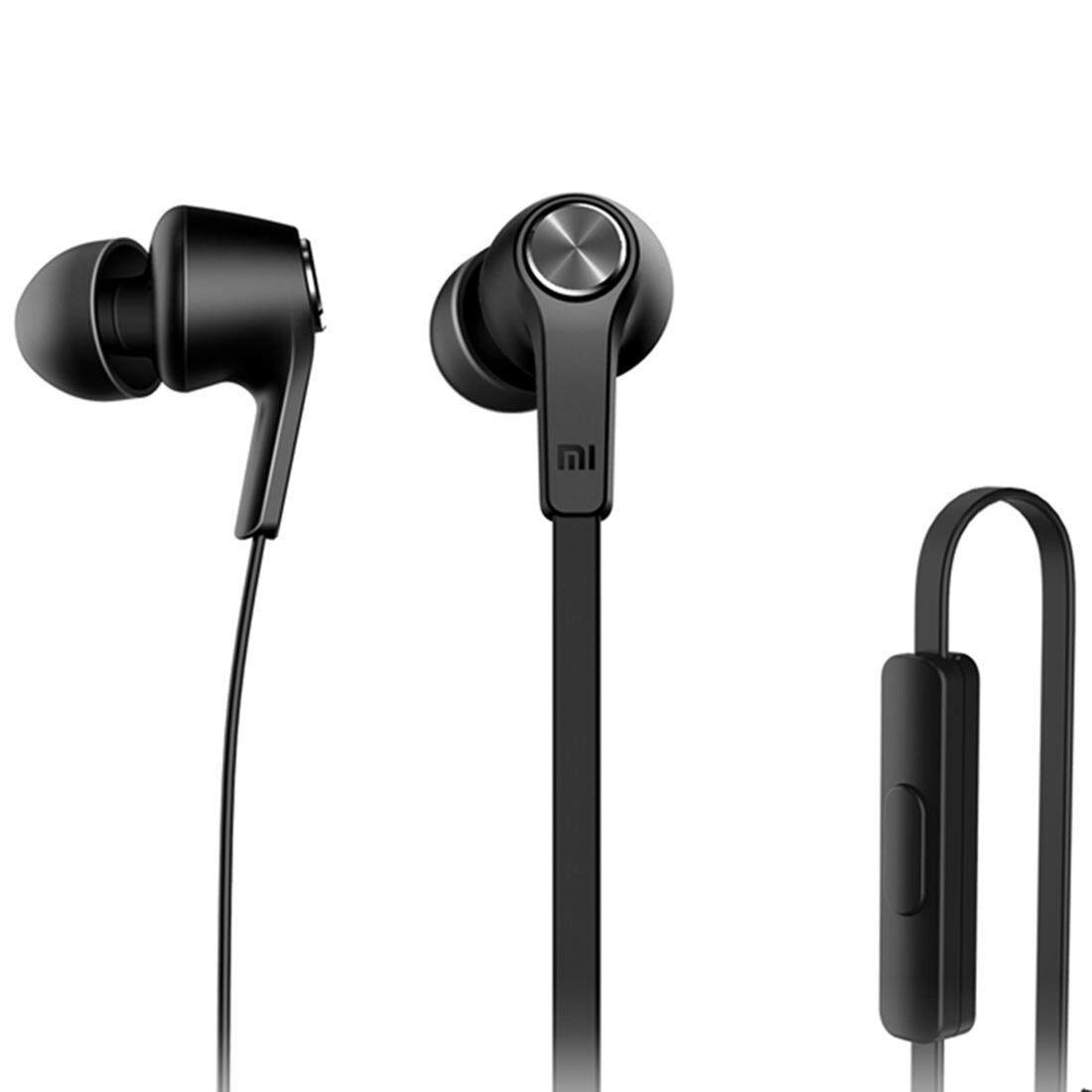 Original Xiaomi HSEJ02JY Basic Edition Piston In-Ear Stereo Bass Earphone With Remote and Mic