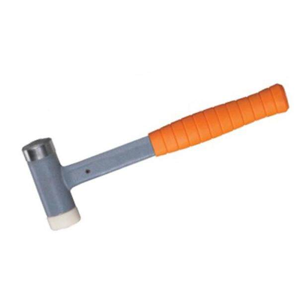 1PCS Suyep Non Rebounding Steel Cushion Grip Dead Blow Hammers with Steel & Plastic Face 810g - intl