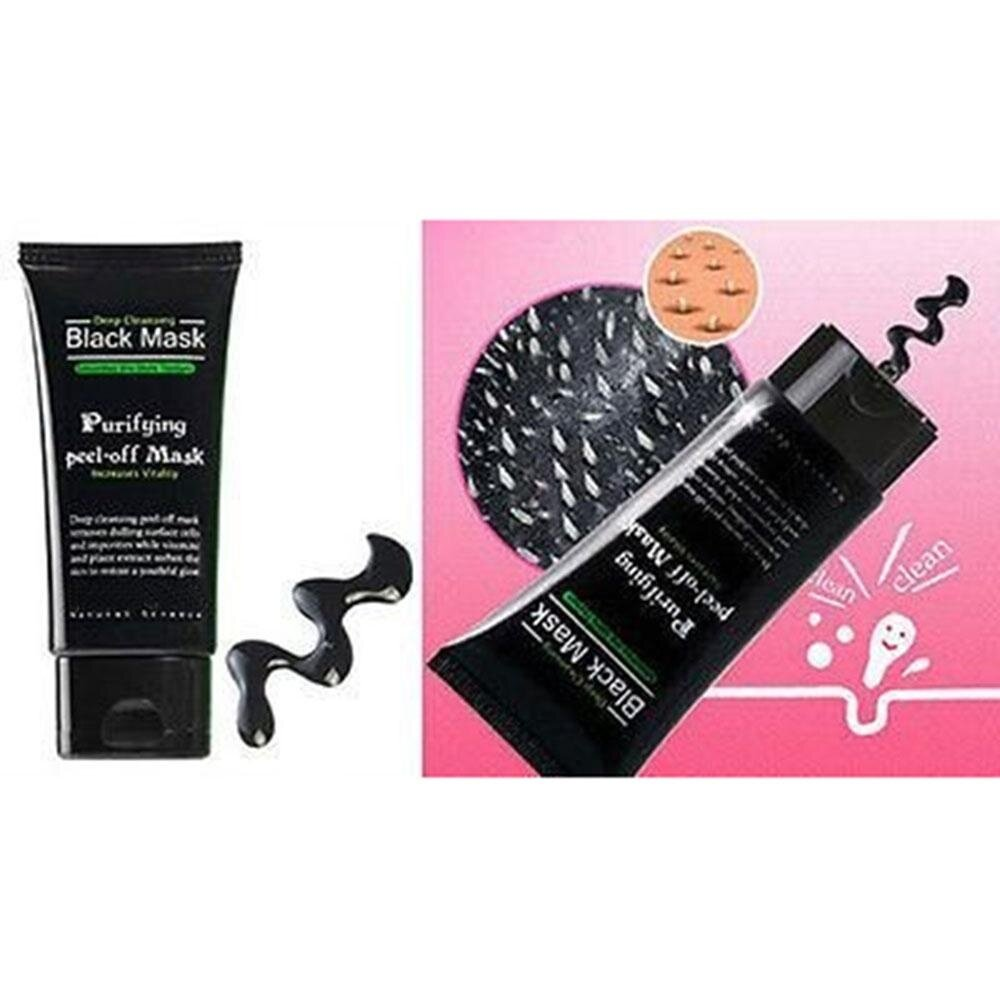 Item Type: Blackhead Removal Mask Size: About 13(L) X 4(W)cm. Capacity: 50ml. Color: Black Main Ingredient:Minerals