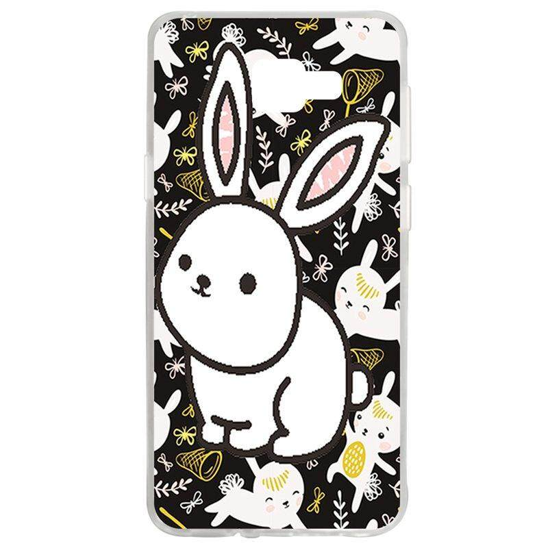 White Rabbit TPU Soft Silicon Phone Case Cover For Samsung Galaxy A7 2016 A710