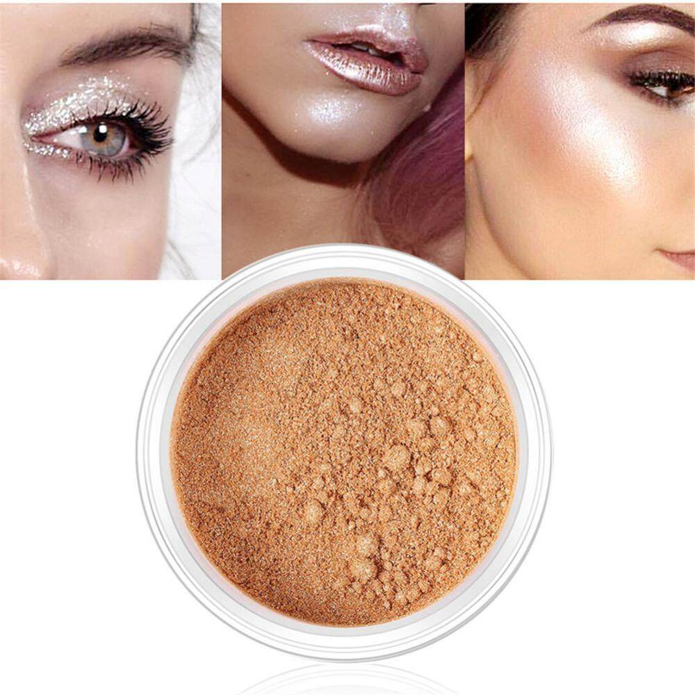 O 4 Colors Highlighter Face Powder Highlight Shading Powder Cosmetics Contour Palette