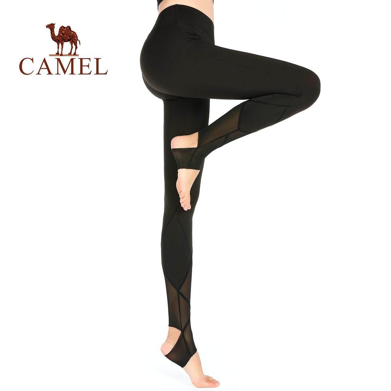 57358a100e232 CAMEL women sports trousers summer running fitness pants quick-drying yoga  pants stepping feet high