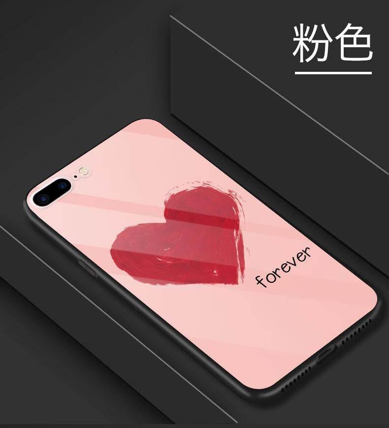 Fitur Iphone 7 Plus And Iphone 8 Plus Simple Love Logo Tempered