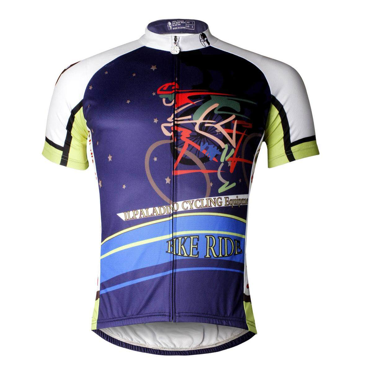 Features Ilpaladino Mens Cycling Jersey Mtb Biking Apparel Bike Shirt Breathable And Quick Dry Comfortable