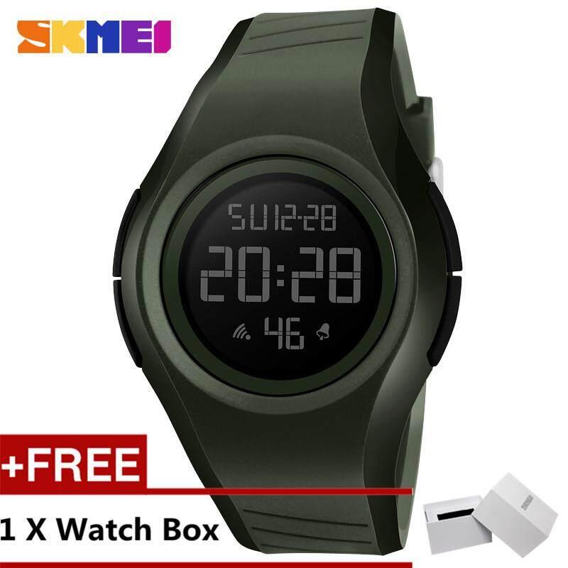 NanXiangZi SKMEI 1269 Men and Women General Outdoor Sports Electronic Watches + Free a SKMEI Box Malaysia