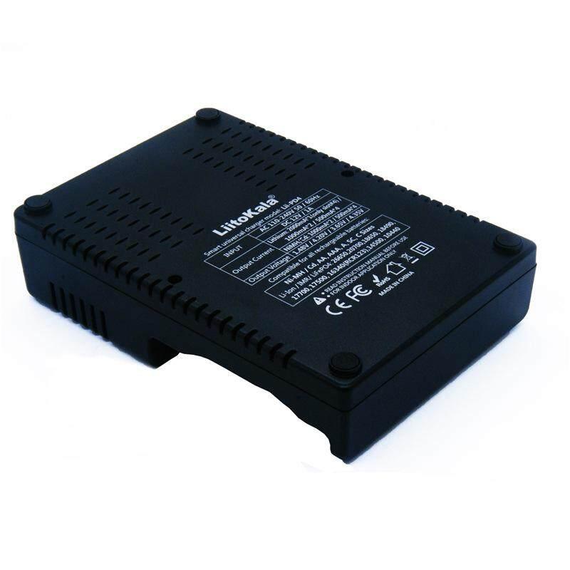LiitoKala Lii-PD4 LCD 3.7 V 26650,21700 năm 20700, 18650 năm 18490, 18350 năm 17670, 17500, năm 16340 (RCR123) năm 14500, 10440 1.2 V AA AAA SC C NiMH Lithium-Pin Sạc HOA/EU Cắm