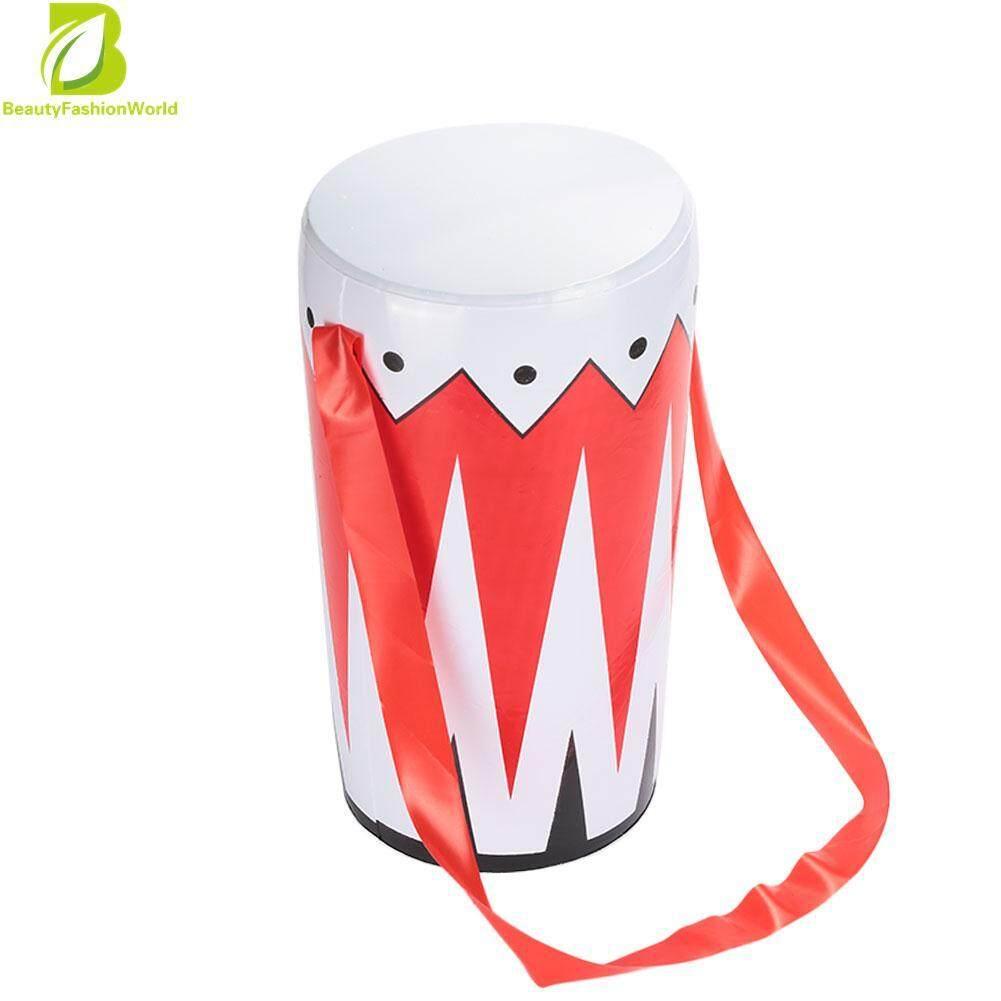Hình ảnh BeautyFashionWorld PVC Fun Simulated Infatable Bongo Drum Inflatable Waist Drum