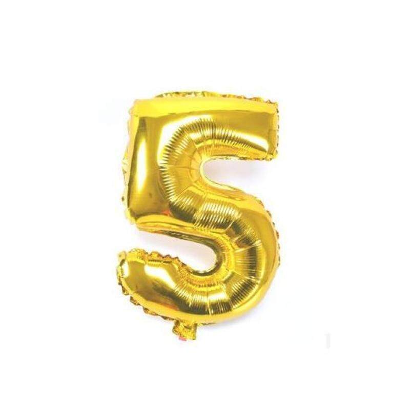 Gold Helium Letter Balloons Custom Names price in Singapore