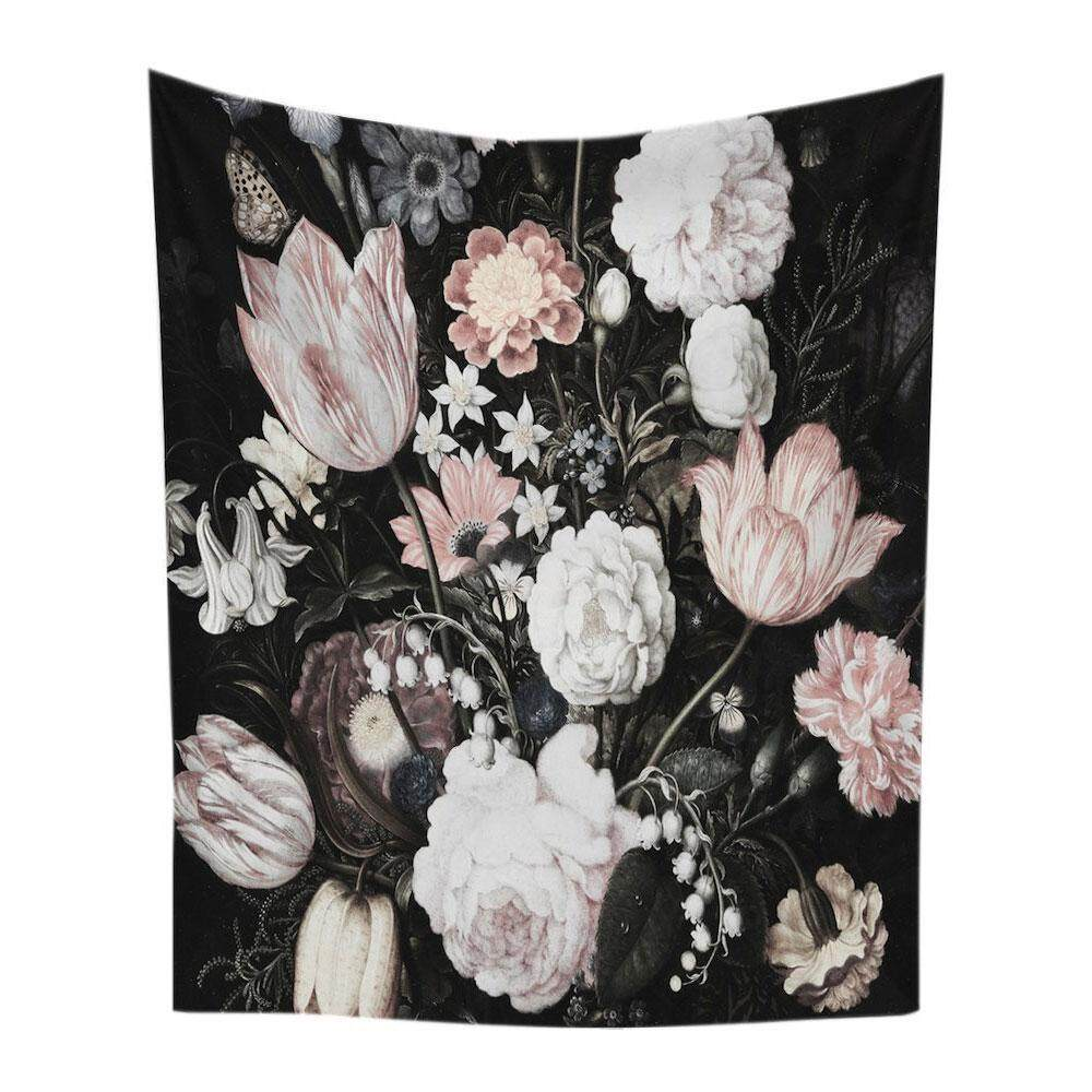 uiuinon Cactus Wall Hanging Tapestry -Polyester Fabric Floral Wallpaper Home Decorations,Beach Towel Shawl Cushion(09) - intl