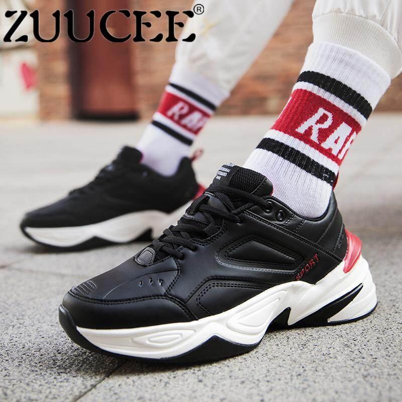 Zuucee Gaya Baru Pemuda Pria Sneakers Outdoor Sepatu Basket Berongga Tren  Shoes free Shipping  220310185a
