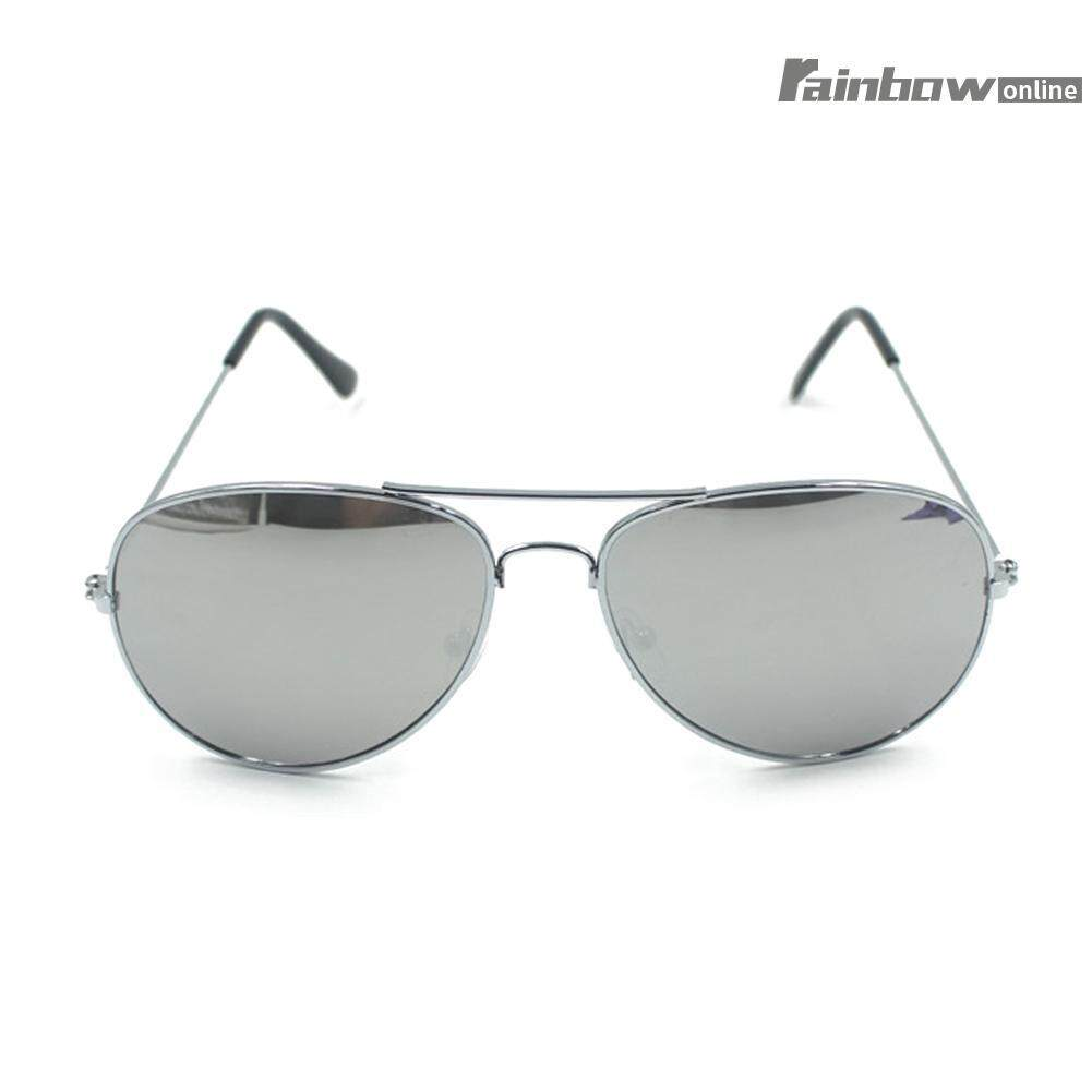 Uv400 Wanita Kacamata Hitam Logam Vintage Kacamata Emas-Intl By Rainbowonline.