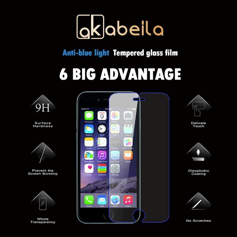 AKABEILA 2PCS For Apple iPhone 7 Plus iPhone7 Plus A1661 A1784 iPhone 7 Pro 5.5 inch 158.2 x 77.9 x 7.3 mm Hight Quaity Tempered Glass Smartphones Screen Protector Film