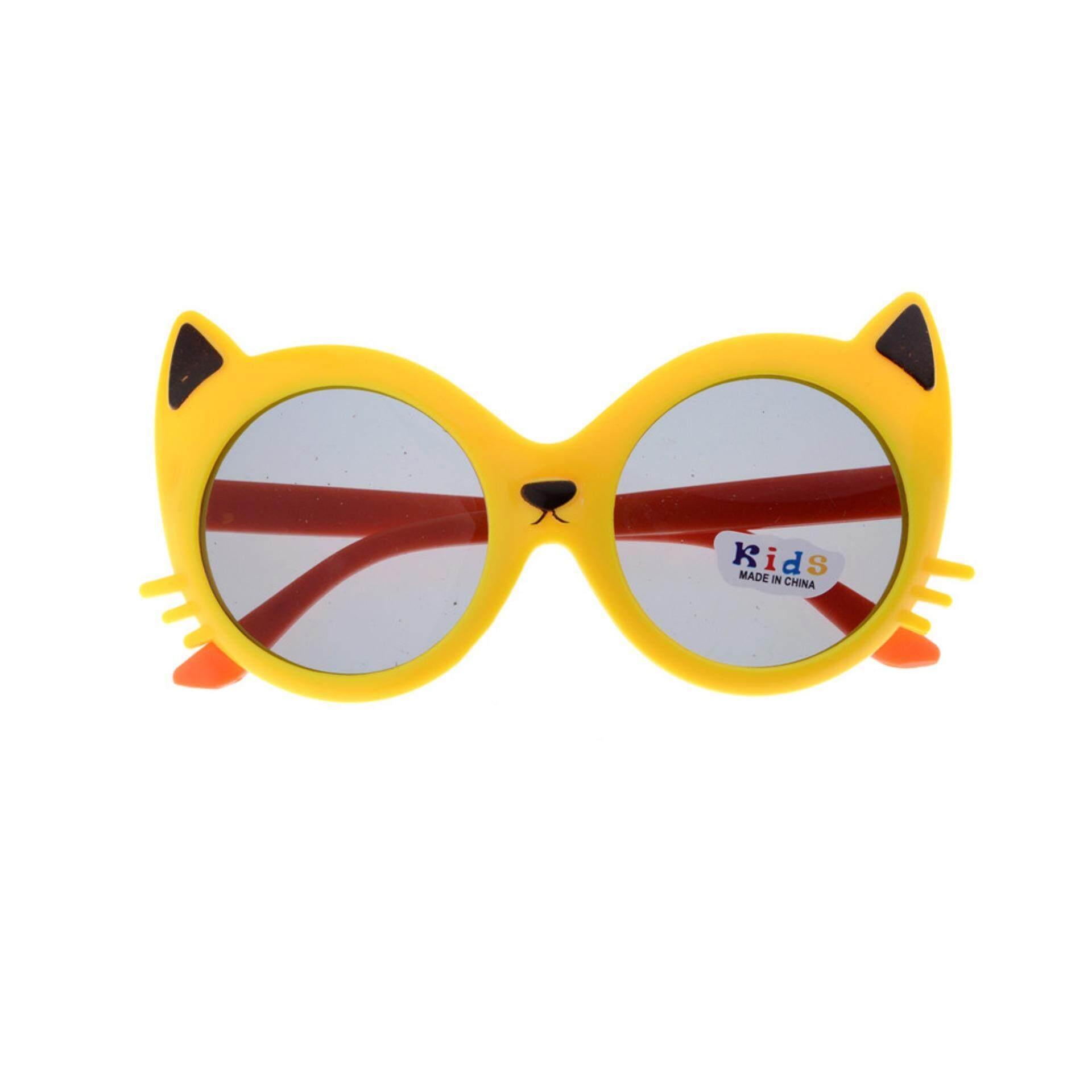 Anak Perempuan Anak Laki-laki Anti UV400 Kacamata Kucing Kartun Balita Bayi  Kacamata Hitam- 2effb7fff8