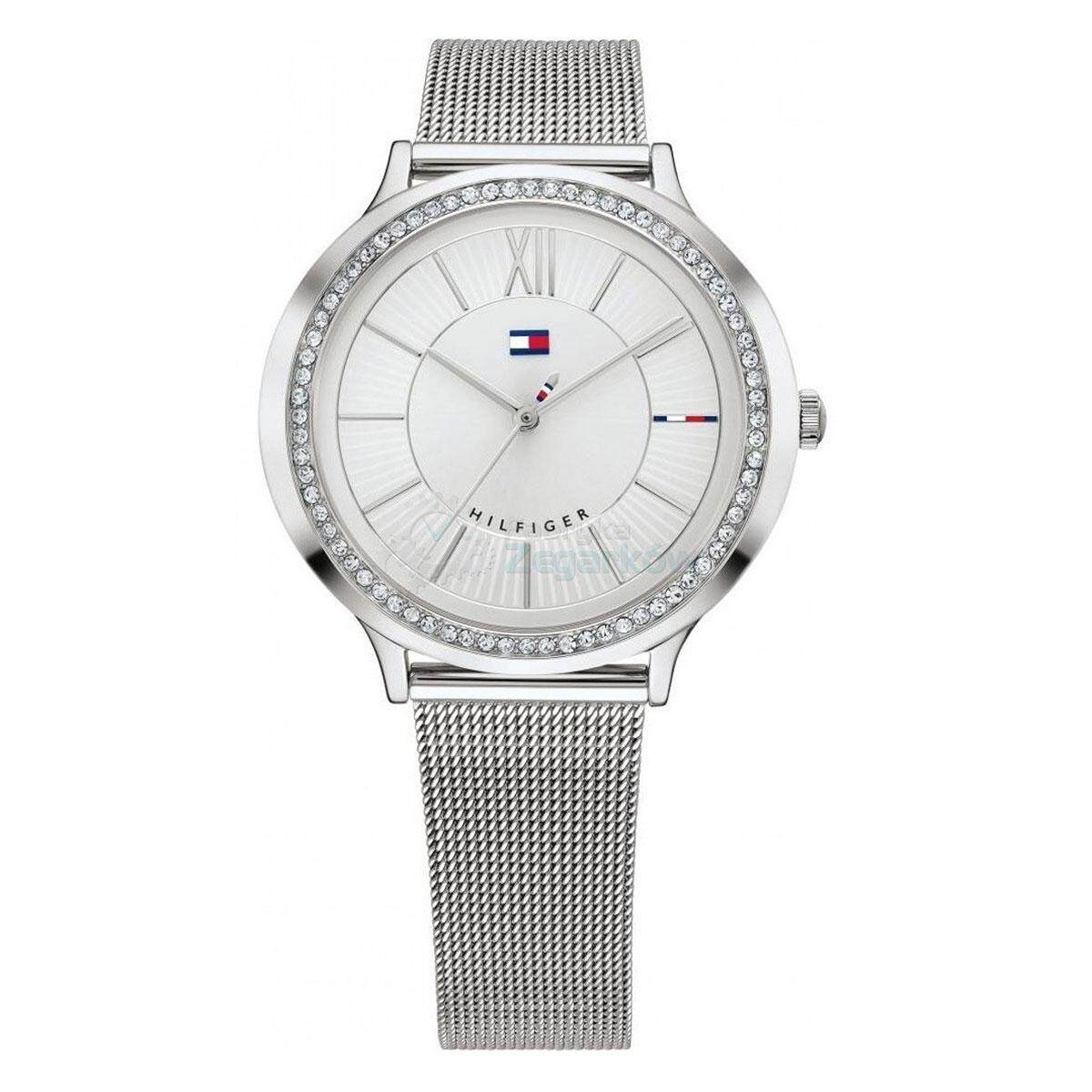 Tommy Hilfiger CANDICE Silver Stainless-Steel Case Stainless-Steel Bracelet  Ladies 1781862 d415d8e559