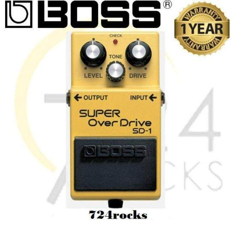 Boss SD-1 Super OverDrive Effect Pedal / SD1 Malaysia