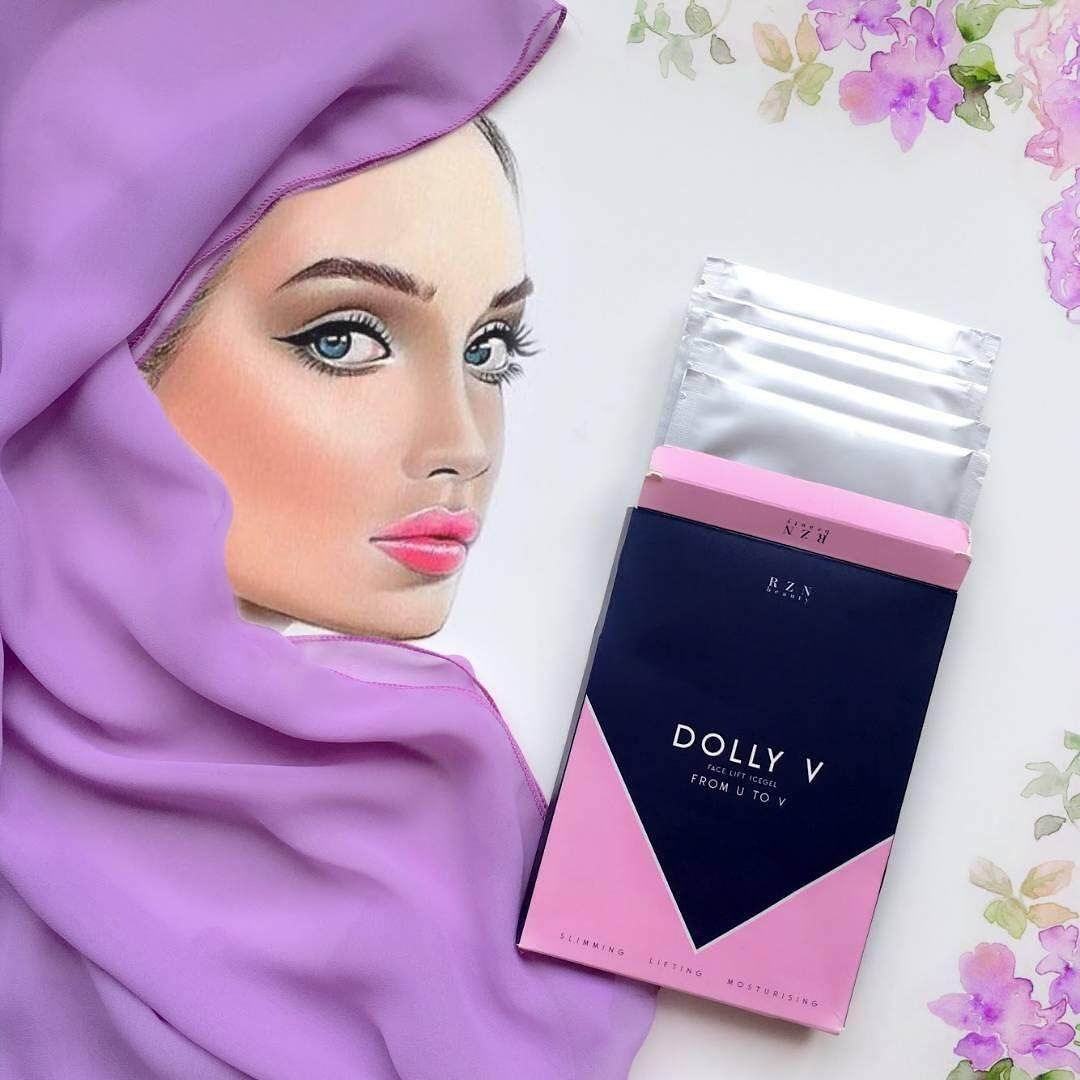 DOLLY V SHAPE MASK(muka tirus,dagu runcing) by RZN Beauty HOT PROMOTION