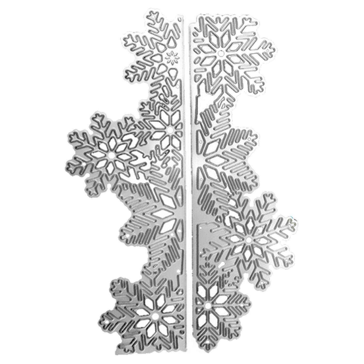 Carbon Steel Snowflake Embossing Cutting Dies Stencils Templates Mould Set For Diy Scrapbooking Album Paper Card By Stoneky.