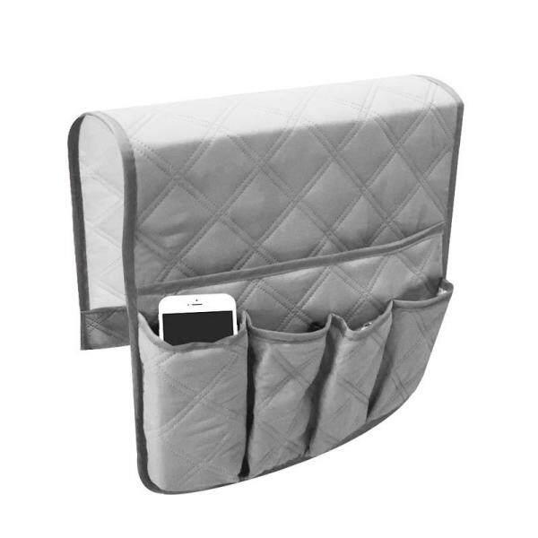Sofa Armrest Caddy Organizer Anti-slip Hanging Sofa Storage Organizer Bag Household Bedside Couch TV Remote Control Holder Arm Chair Pockets 90x34cm