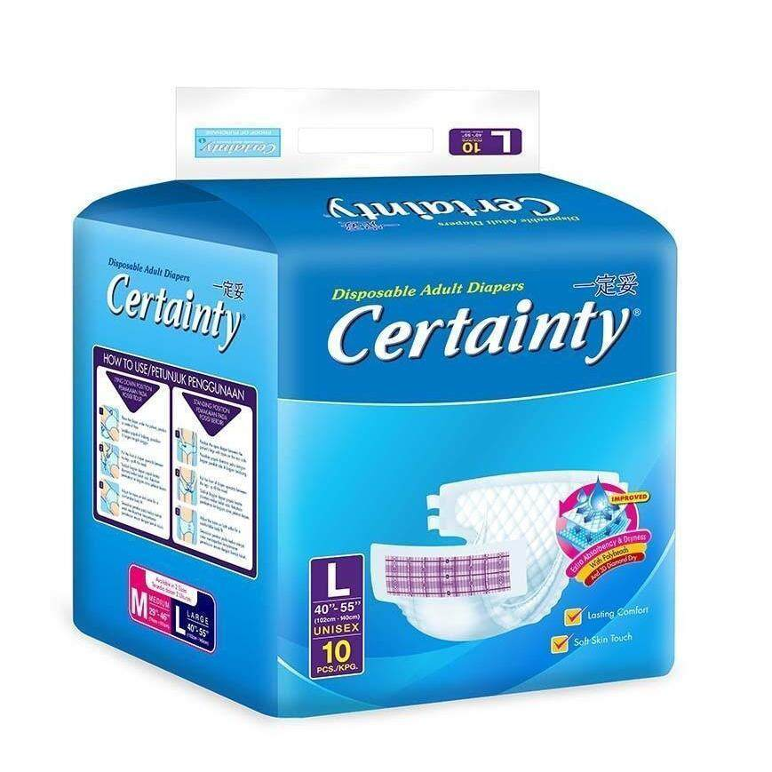 Certainty Adult Diapers (L size)