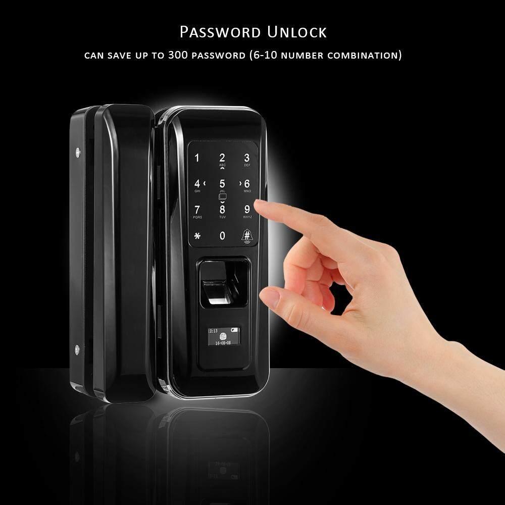 Features Mijia Sherlock M1 Intelligent Stick Lock Non Dismantling Electronic Single Open Door Fingerprint Touchscreen Smart Digital Glass Keyless