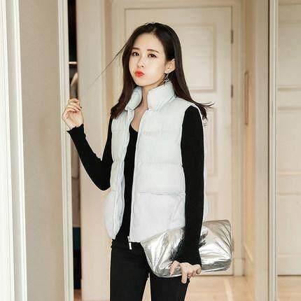 d783b9b8760 2019 New Style Vest Female Spring Autumn And Winter Korean Style Short  Students Cotton Coat Women's