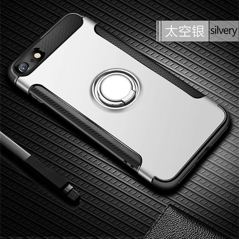 da6ed1053 iPhone 7 Plus Case, iPhone 8 Plus Case, Luxury Magnetic Armor Silicone Case  Cover