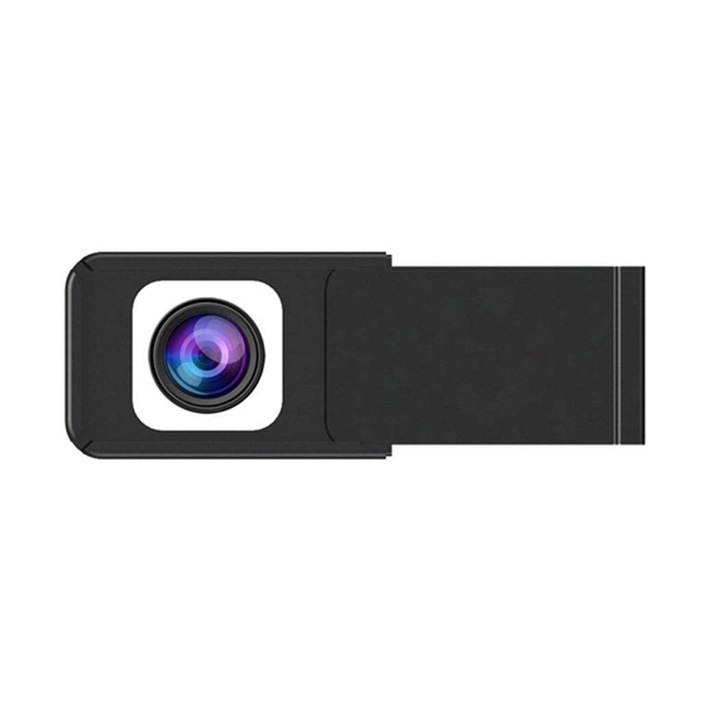 Miracle Shining Metal Webcam Cover Slide Camera Privacy Sticker for Phone, Laptop Black - intl
