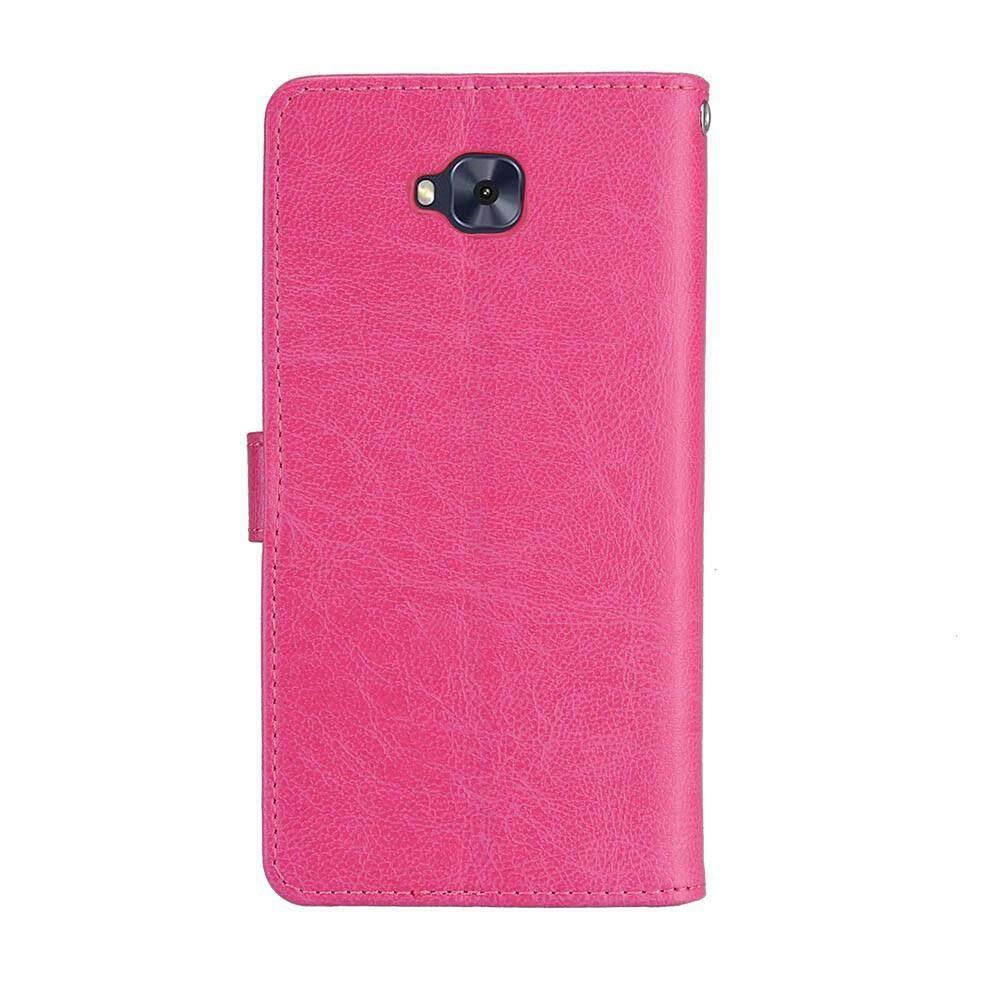 Detail Gambar PENUTUP UNTUK ASUS ZenFone 4 Selfie ZD553KL PU Dompet Kulit Flip Stand Cover dengan