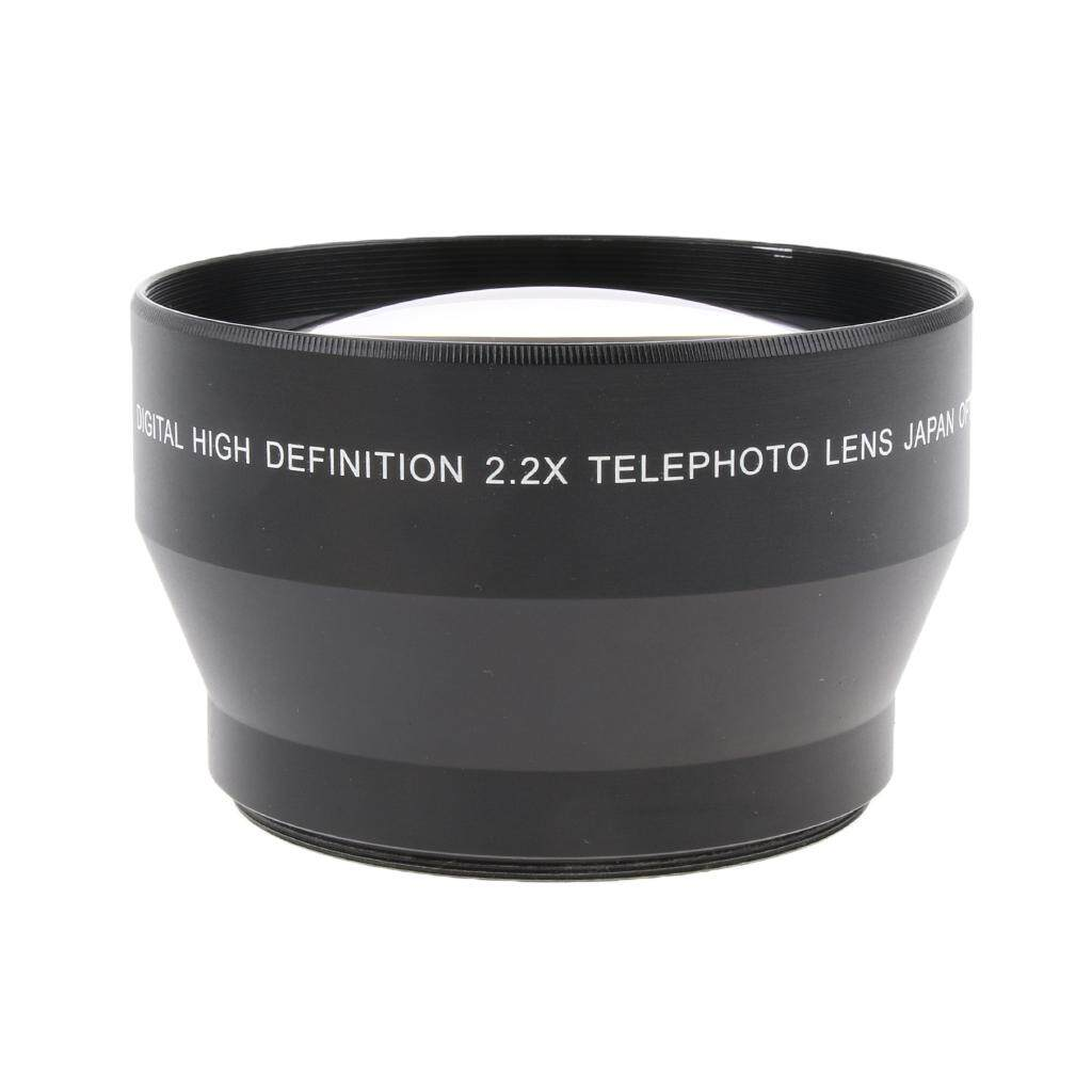 Miracle Shining 67mm 2.2x Magnification Telephoto Lens for Canon Nikon Sony Cameras 18-135mm
