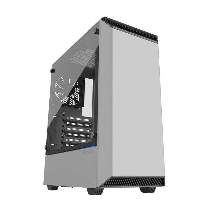 Phanteks Eclipse P300 Mid Tower ATX Case Tempered Glass White Malaysia