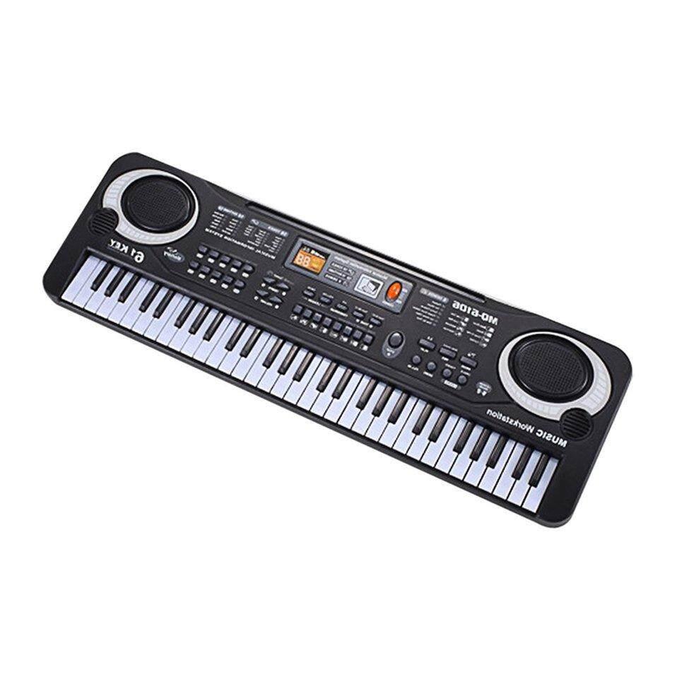 Oh 61 Kunci Piano Elektronik Keyboard Dengan Mikrofon Anak Musik Alat Uni Eropa Plug By Ohbuybuybuy.