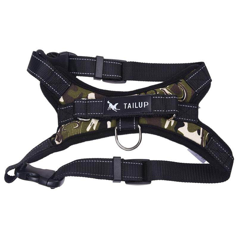Tailup Service Dog Harness Vest Tailup Service Dog Harness Vest Cool Comfort Oxford Cloth For Dogs Camouflage S By Superbuy666.