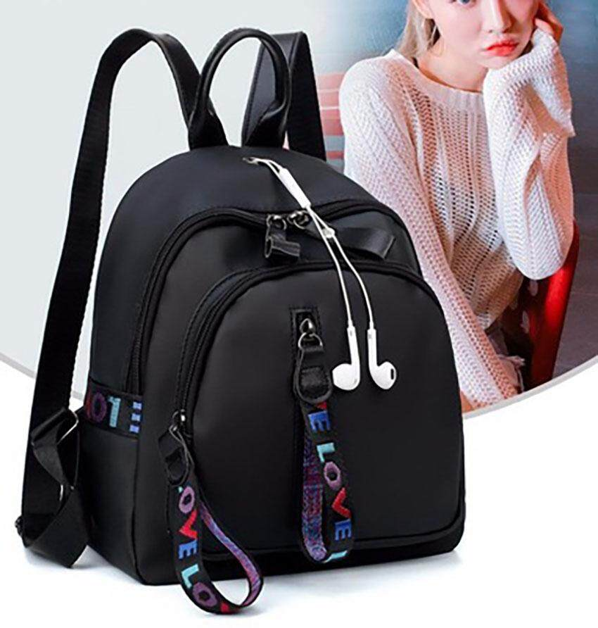 Unique2017 Newest Trendz High Quality Korean Style Ultralight Waterproof Oxford Cloth Backpack Casual Women Large Capacity Backpack Fashion Ladies Female Leisure With Headphone Hole Travel Shoulder Bag - intl