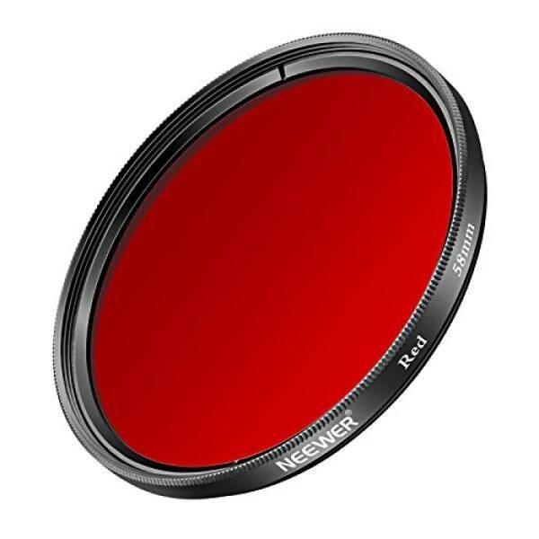 Neewer 58 Mm Membusuk Filter F? R Canon EOS Rebel T6i T6 T5i T5 T4i T3i SL1 DSLR Kamera, aus HD Optischem Kaca Und Aluminiumlegierung Rahmen-Intl