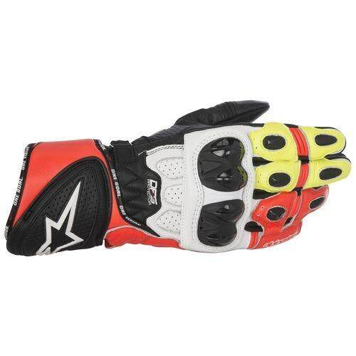 ALPINESTARS GP PLUS R GLOVE (RED/YELLOW/BLACK/WHITE) - [ORIGINAL]