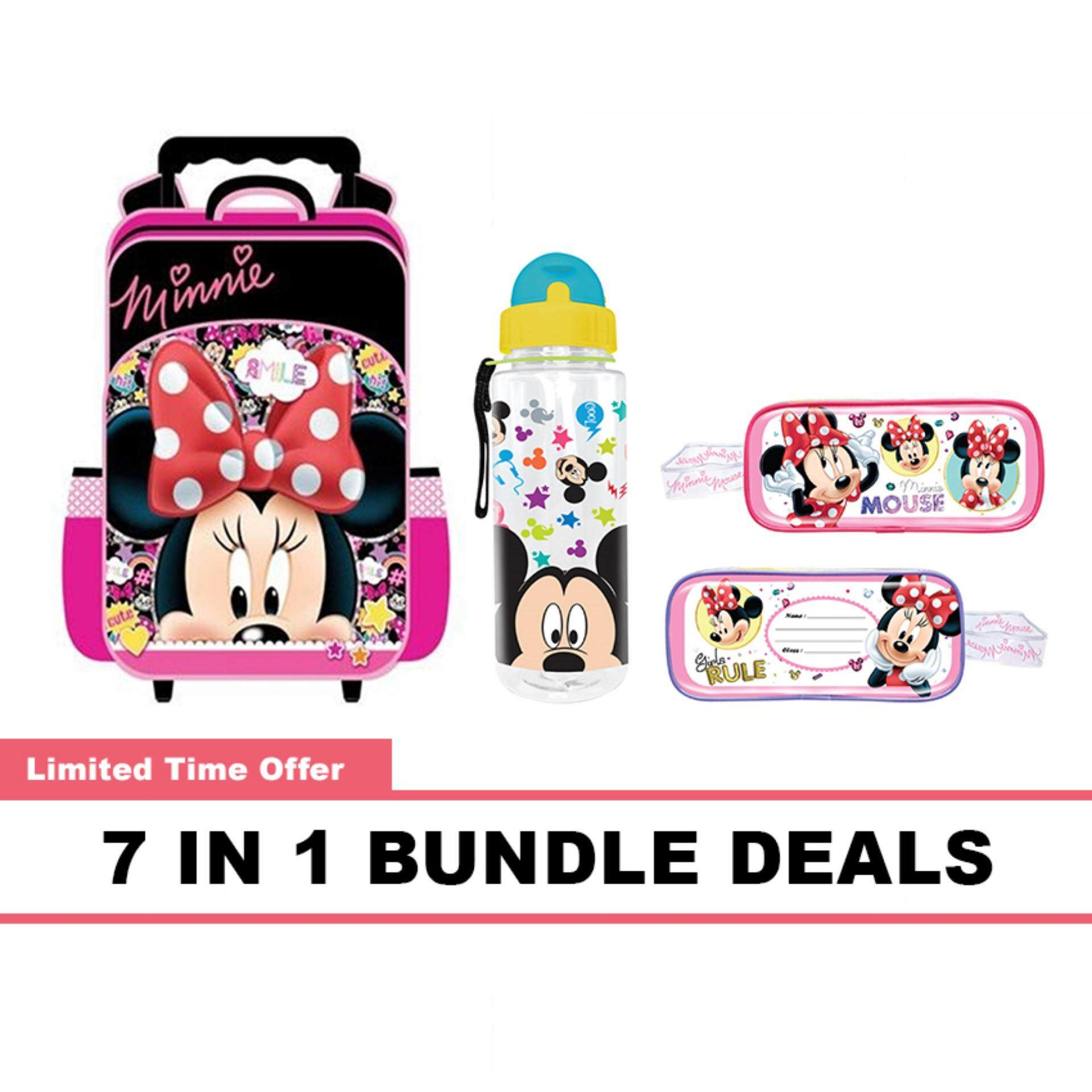 Disney Minnie Mickey Primary School Kids Children School Tro...