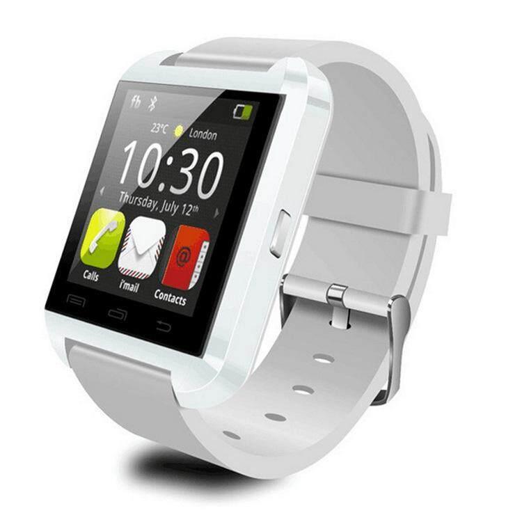 U8 Bluetooth Smartwatch Telepon Seluler Informasi Pengingat Olahraga Langkah Hadiah Wear-Intl