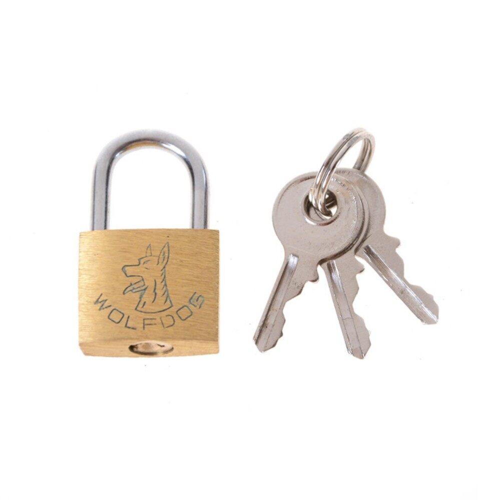 3 Kunci Gembok Kuningan Gembok Koper Koper Perjalanan/Koper/Kunci Gerbang