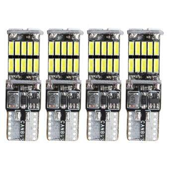 Pencarian Termurah 4x 4014 26SMD 194 LED Bulb Super Bright Canbus Error Free 921 T10 168 912 W5W 161 Bulb Car Lights Bulb Clearance Lights (Red) harga ...