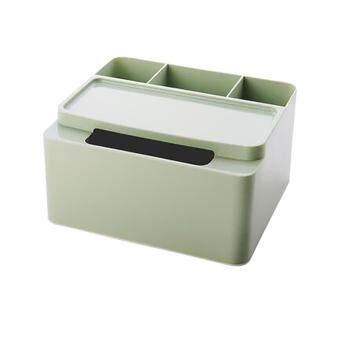 การส่งเสริม BolehDeals Napkin Holder Remote Control Plastic Storage Box Home Desk Tissue Box Green find price - มีเพียง ฿148.80