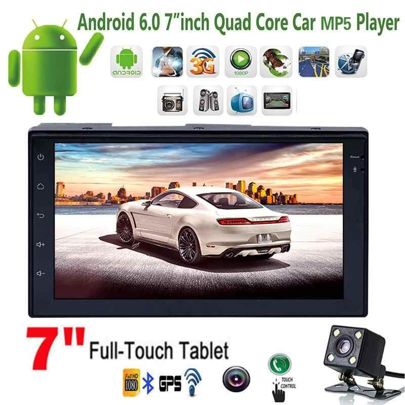 "2-Din 7"" Car MP5 Player Touch Screen Stereo Radio GPS Navigation HD Video"