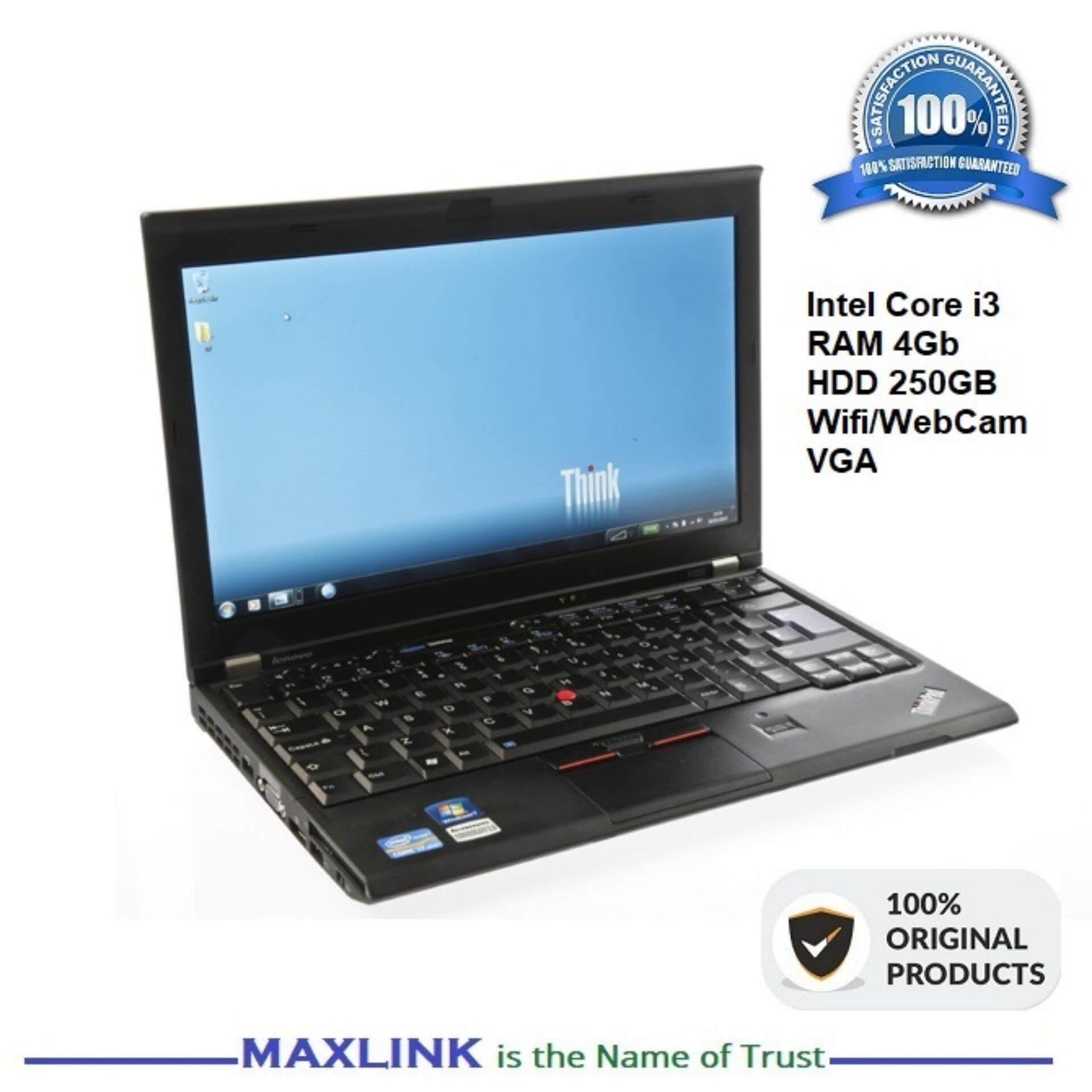 Lenovo ThinkPad X220i Intel Core I3 / 4GB / HDD 250Gb 12.5 low budget heavy duty laptop {REFURBISHED} Malaysia