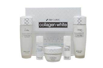 3W Clinic Collagen Whitening Skin Care Items Set