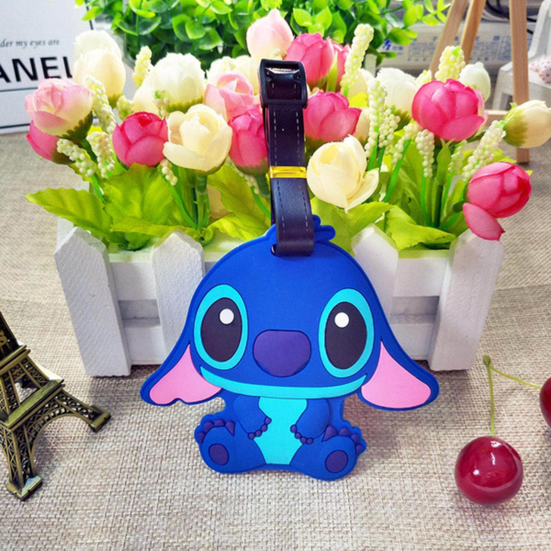 Luggage Tags Buy At Best Price In Malaysia Www Tag Pikachu Silicone Travel Baggage Bag Cartoon Stitch Blue