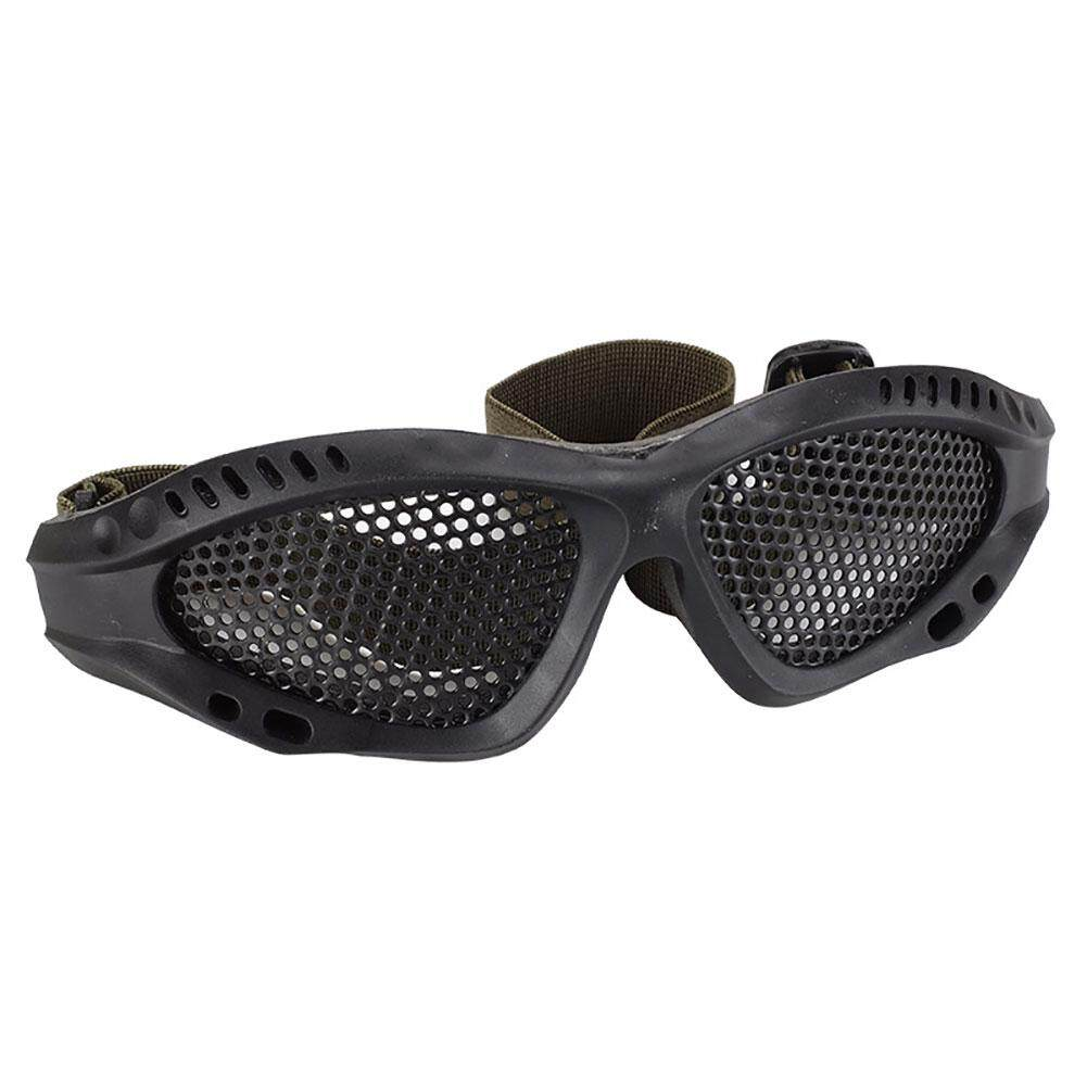 Crazy Motor Tactical Eyes Protection Plastic Goggles Safety Glasses For Shooting Cs Game.