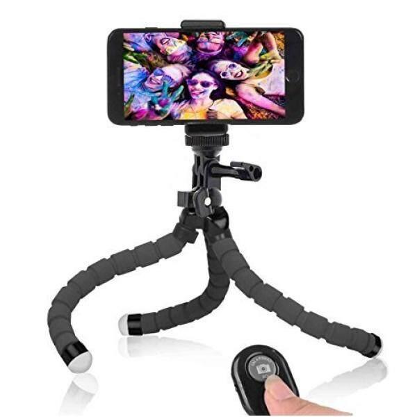 Selfie Tongkat & Tripod S Tripod Ponsel, Anconic Ponsel Fleksibel Tripod dengan Remote untuk iPhone & Android Ponsel, Kamera, dan Go Pro [Upgrade]-Intl