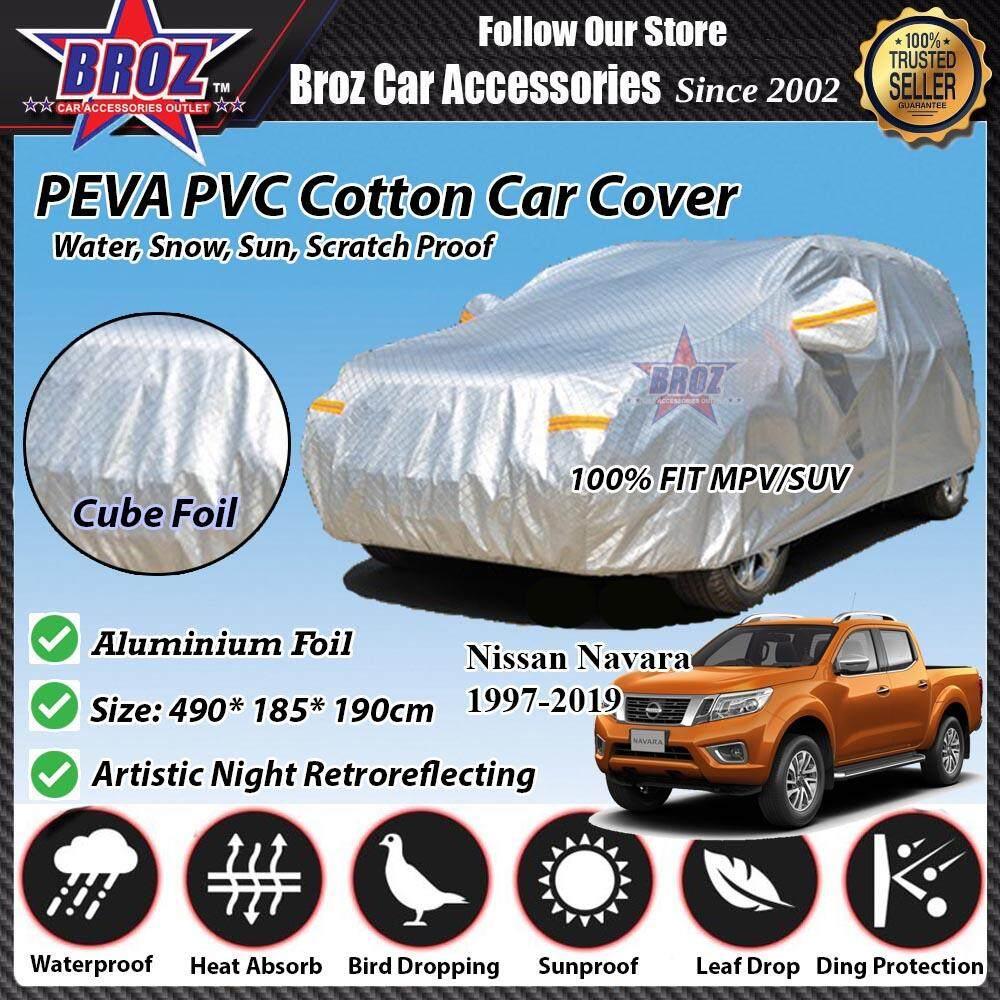 Navara Car Body Cover PEVA PVC Cotton Aluminium Foil Double Layers - MPV 2