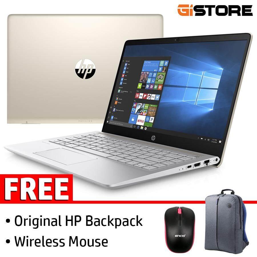 HP Pavilion 14-bf166TX 14 (i5-8250U, 4GB, 256GB SSD, NV 940MX) Laptop/ Notebook Malaysia