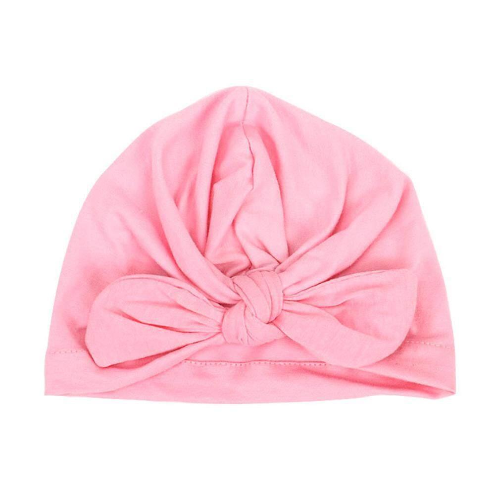 623167db0 SeaLavender Turban Knot Rabbit Newborn Hospital Hats for Girls,Baby Girl  Hospital Hat with Bow