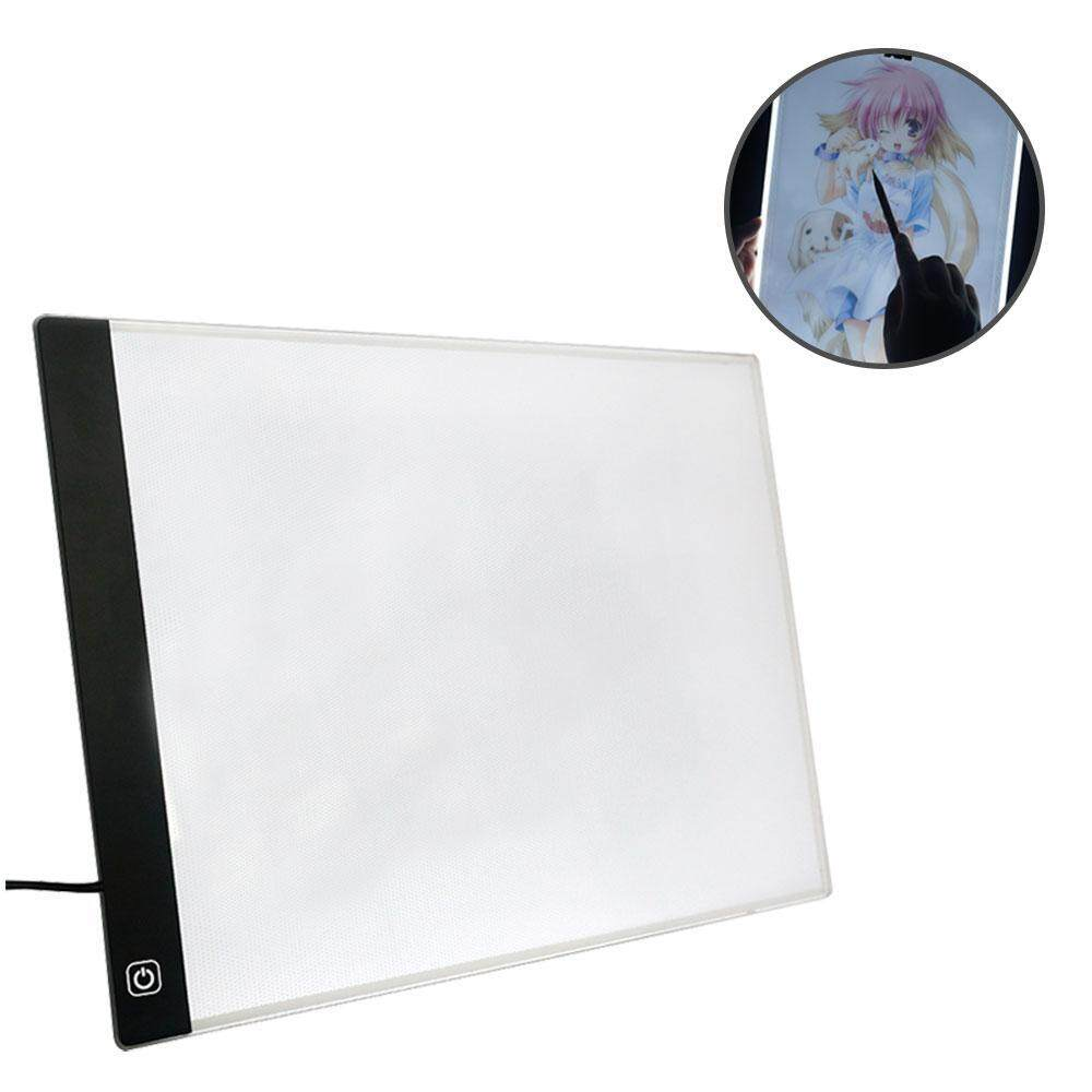 Fuskm Led Copy Board Super Thin A4 Light Box Tracing Pad Led Art Drawing Board Usb Power Light Pad For Professionals And Students Intl Review